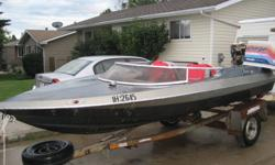 HI,i have a 79 speedboat 115hp seats 4,runs exellent,fun fast clean boat.asking 3500obo.can deliver.mail or call 403 346 7600  thx