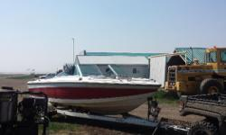 Selling my 19 foot boat with new motor 14hrs on whole buildmaintenance the whole leg and got a new prop runs very good like a new boat just getting out of it because I have no time to go asking 7000 obo stoughton sk Regina sk 13068970117 text is better