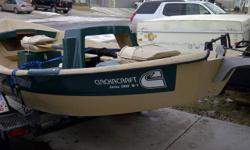CLACKACRAFT SERIES 2000 WEIGHT FORWARD (W-T)  DRIFT BOAT.  A MUST SELL AS I JUST BOUGHT A NEW BOAT.  TRAILER, OARS ( UPGRADED SAWYER OARS), OAR LOCKS, ANCHOR, FOOT ANCHOR RELEASE AND ROAP ALL INCLUDED WITH BOAT.