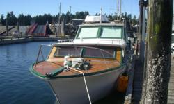 32 ft, Monk Motor Cruiser Completely rebuilt over 9 year period. Relaunched in 2014. This is a sweet unit looking for a new home. Trades considered. More info and pics call 250-720-2229 Port Alberni. Currently moored at French Creek. Will make a great