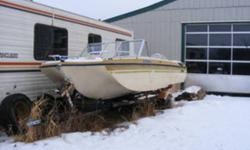 Date Listed 03-Feb-12 Last Edited 03-Feb-12 Price $3,600.00 Address Kingman, AB T0B 2M0, Canada View map For Sale By Owner Year 1974 Colour Tan 16 foot glasspar 156 cutlass tri-hull 8 seater boat. c/w 85 hp evinrude and trailer 3600.00 obo