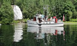 The Coast Ranger is for sale for the first time to the general public. The Coast Ranger is a custom built 48 foot headquarters' patrol ship. The ship was built by the B.C. Forest Maintenance Depot in Vancouver. The Coast Ranger is a professionally