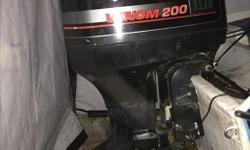 79 cobra V6200hp Johnson. Boat runs good. Nice looking interior with bench seat..