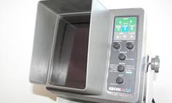 I have a Koden cvs-822 color video sounder 50khz  200khz TD works get, reason for selling is I just up graded.