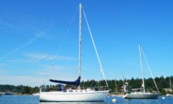 Great Boat completely redone, new dodger, sail cover and bimini cover, 2 source hot water tank, holding tank, sails are about 6 years old, Lawrance Elite 5 GPS/Depth Sounder/Electronic charts, 6 foot 2 head rm,Atomic 4 engine, ready to go