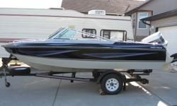 - 1996 Johnson outboard - 120 HP - Shorelander trailer - Trolling motor - Fish depth finder - Travel tarps - Full bimini top - New tires w/new spare - Ski tow bar - 2 stroke oil injected _ Excellent family skiing/fishing boat