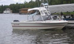 INDOOR STORAGE PAID TILL SPRING! 1994 2050 YAR-CRAFT Michigan. 150 Mercury, oil inj., huge livewell, VHF, bimini top, roller trailer.Am placing ad once before higher prices in spring---ONLY $ 4000 . FREE SPRING RUN-UP! 392-8900