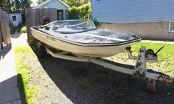 1985 cricket speed boat motor traier with 75 horse mercury runs great just to fast for me $1800 firm