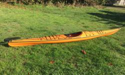 I'm selling my Current Designs Solstice GTS High Volume single sea kayak complete with paddle and skirt in pristine condition throughout. She has been stored covered and is well looked after. The Solstice GTS is the high performance touring version of the
