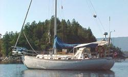 Classic Cutter. Original owner. Double ender. Bowsprit. Nice Teak wood interior and appointment. Loaded with extras. Heater, Radar, GPS, Auto helm 4000 Autopilot, Energy monitor, Cockpit Arch, Freezer box, Roller Furling, 3 Cyl YANMAR diesel, etc. Hull: