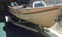 14' Deep Fisherman Mirrocraft boat 25 hp Long Shaft Mercury Motor All Speed trailer $2100.00 for all phone 250-757-9298 to view