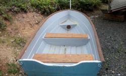 13 ft fiberglass lapstrake dinghy