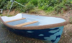12 ft fiberglass dinghy