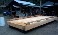 Canlink Marine builds custom docks and floats for Lake or ocean. Docks can be built with any type of wood you prefer. Fir, Cedar or Pressure Treated lumber. Fir and Cedar is all full dimensional Lumber, milled locally. All Hardware and fasteners are