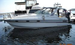 Fabulous 30' Doral Prestancia. Great family size with tons of room and loads of power with dual GM 4.3CC engines. Loaded with many extras. Current survey available. GPS, VHS & Radio, Safety Equipment, Central Vac, Two Fridges, Two Queen Berths, Dining