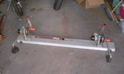 2  electric Big john down riggers and trolling base plate. $245.00 or bo.