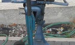 3.5 HP ESKA OUTBOARD BOAT MOTOR, has built in gas tank. runs great! $225.ph 2996255 please call as email not working