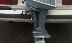 Very nice 6hp outboard light weight easy running. doesn't need anything its all ready to go