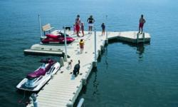 Fall Sale is on now. Book your dock now for spring.   PWC and small boat lifts, swim platforms and rafts, gangways, ramps, ladders, lighting and much more.   WHY EZ DOCK!!!   EZ Dock is the worldwide market leader in floating docks and PWC lifts. We have
