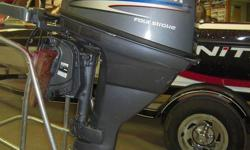 Don't Miss this well maintained Alliance certified Pre-owned outboard with warranty at 1/2 the price of new. For sale for only $2895.00 plus Taxes. Call Cora at Alliance Marine Today!!!