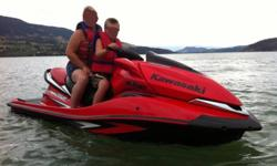 2008 Kawasaki Jet Ski Ultra 250X Super Charged 1500cc, 250 HP, inter cooled Zero to 30MPH in 2 seconds 3 Passenger Virtually new only 40 hours. lots of storage space, EZ Loader trailer Excellent condition was over $18,700 for package (have receipts) plus