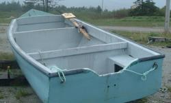 fiberglass skiff ..18 ft. ...$3500.