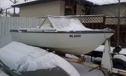 14 foot fiberglass boat for sale by owner, please contact 1(306) 772 0400 $300.00 o.b.o