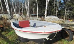 I would like to sell this boat before the snow hits.  I have a 15 1/2 ft fiberglass boat.....good hull, but needs a new floor.  Used it all summer, it rides great.  Reason for selling - we got a bigger boat.   No trailer, no motor.   $300 OBO....call or