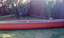 I have an 18 foot long fiberglass canoe that I am looking to sell. It is in good condition, and anyone interested in it is more than welcome to come look at. I am looking for $300 OBO.