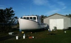 """32'6"""" X 12'6"""" Stanley Greenwood Cape Island style boat. Built in 86, rebuilt in 2006 with all new bulkheads, decks, wheelhouse. New 200 HP Volvo and 2.57-1 transmission with onley 900hrs on both. New plotter, sounder, and DSC radio. Full hydraulics with"""