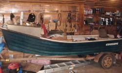 i have for sale a 16 foot oyster boat fiberglass 11 years old reason for selling is getting a bigger one it has aluminum tongboards stored in side every winter