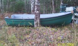 Fibreglass boat for sale $600. 14 ft.