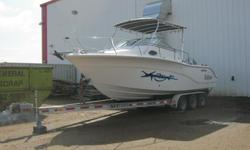 For Sale Seafox 256 WA w/ a single Honda 225 outboard. Comes with a 2009 Tri-axle Trailer. Excellent boat with many options. ASKING $49,500 http://www.seafoxboats.com/boats/Walk-Arounds/256-Voyager)Please call 780-446-0054