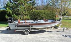 1989 16 ft SeaNymph w/ 40 hp Mercury Classic and Northtrail tailer. Comes with 40 lb thrust Minnkota trolling motor w/ foot control ,livewell, rod locker and new carpet last season.  Asking $4000 /obo