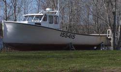 Wood boat build in 1996 good condition 315 cumming twin disck transmission 4000 hrs