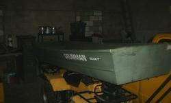 12 foot like new!  2 aluminum ores     please call or text jo 9059646002