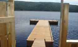 Built to spec from 16ft long X 10ft wide and up to 48ft long by 8ft or 10ft wide. All pressure treated lumber and galvanized hardware, gangway included,  moorings, anchors, and chains included. Top quality craftsmanship. Located in  Clarenville area. Call