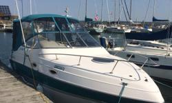 Great condition 238 Vista, One of the cleanest 1995 boats out there come a take a look, 5.0 ltr fuel injected Volvo Penta,Volvo Penta Cobra SX drive, drive just serviced at the Volvo dealer, Garmin GPS/Chartplotter,VHF Radio, full tops in excellent