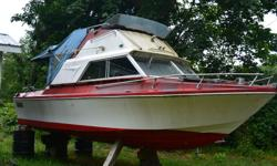 Free boat, for info phone Carl @250 619 6956 or 250 722 2007