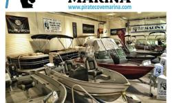 Free Winterization & Outdoor Storage for 2016 plus a Free 2017 Spring Commission with the purchase of a new boat from Pirate Cove Marina. Check out our great pricing on all in stock fishing boats,Bowriders & Pontoons.