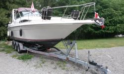 """""""Stressless"""" is a beautiful boat. Easy to drive, lots of room, fully stocked with kitchen wares and bedding along with $400 custom made memory foam topper for V-birth bed. Only reason for selling is downsizing. We loved her and hope that she will find a"""