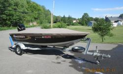 2007 Princecraft DLX package $8,200.00 14 foot wide body. 25 Mercury 4 stroke with very little hours. Trailer included. Factory tarp. Live well with pump Bilge pump Front and back light All switches factory installed. Full vinyl floor Quebec plated