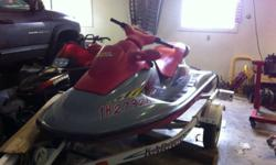 I need to sell my sea doo. No time to ride. Insain fast tons of fun. Trailer available at additional cost. 3000 obo. Call dustin (403) 809-4679 This ad was posted with the Kijiji Classifieds app.