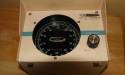 Model MI 11A Depth Sounder. Runs on 12 volt DC, runs great.   Model MD-19A Foghorn Hailer. Runs on 12 volt DC, runs great.   Make a reasonable offer.