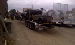 WE are  now  the  DEALER  for  EXCALIBUR   boat  &  equipment  trailers out  of  ontario,,,,  ,,,they  are  all  heavey  duty  TRAILERS,,,,,all  hot  dip galvanized,,completed  sealed  lighting...electric  brakes........... ,,just  arivved  a  truck  load