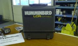 used Hummingbird LCR Portable Depth sounder in good condition 12v transducer $75.00