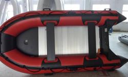 TRANSPORT CANADA APPROVED. INFLATABLE 9.5-14 FT STARTING AT JUST $1050.00 CHOOSE YOUR OWN COLOURS (9) AVAILABLE. 1.2 PVC KOREEN MADE (BEST IN THE BUSINESS) UNDER SIDES RE-ENFORCED. 2 ALUMINUM SEATS, 1 FOOT PUMP (ELECTRIC AVAILABLE) PATCH KIT, BOAT COVER,
