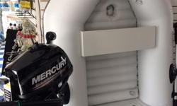 """Prices are increasing and we have a limited supply of NEW Mercury Branded 6'7"""" Dinghy's available our at Early Season Discounted price of $799.00 , a savings of $238.00 We only have a few left in stock so do not take too long to decide. CASH AND CARRY!"""