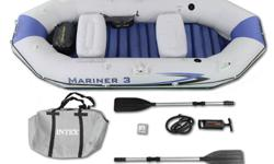 Intex Mariner 3 inflatable boat. Used once, in great shape. Don't use enough to justify storing it.