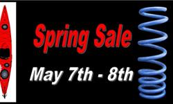 Spring Sale!!! May 7th- 8th *10 to 30% off in stock canoes and kayak *10 to 50% off in stock paddling accessories Jenda PaddleSports 5426 Dalmeny Rd